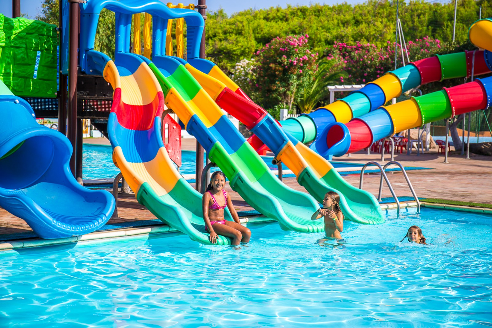 Camping Village with Swimming Pool North of Sardinia, Valledoria